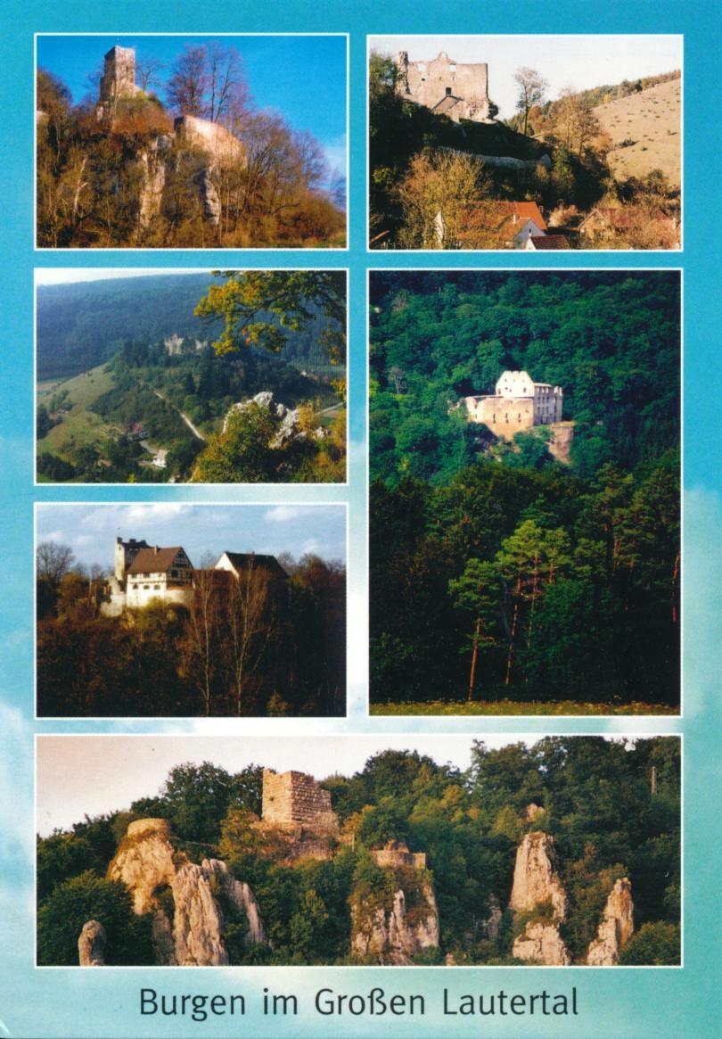 Burgen im Lautertal