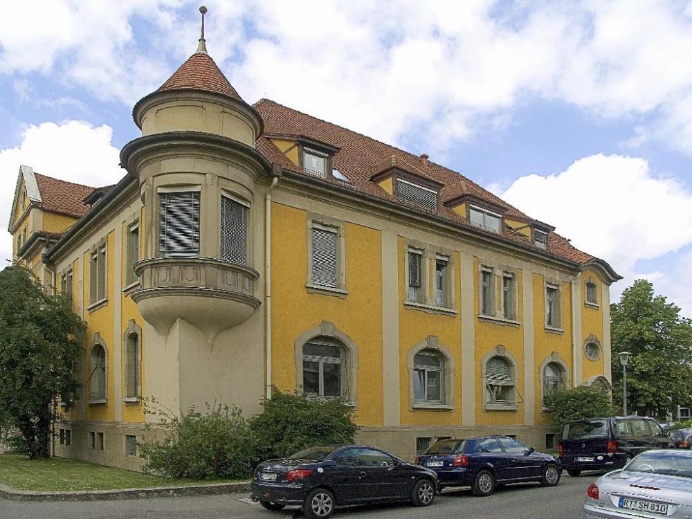 Das heutige Staatliche Hochbauamt (Bismarckstraße 27)