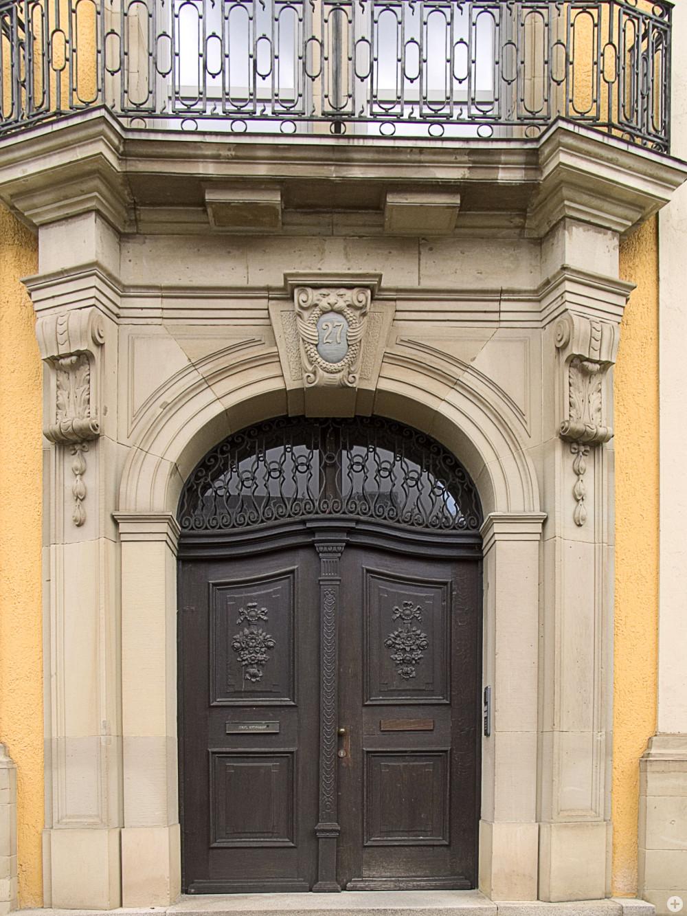 Haupteingang des ehemaligen Oberamts