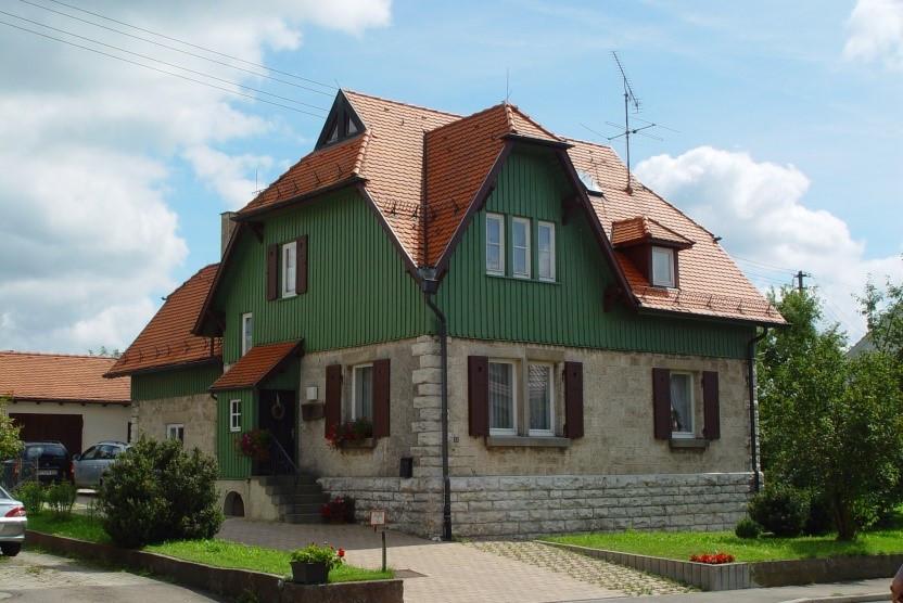 Forstwartsgebäude in Undingen