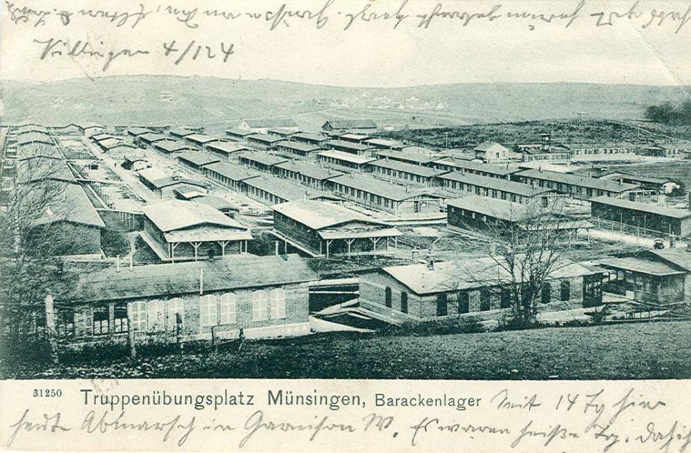 Barackenlager, um 1904 (KART S 6 Nr. 759)