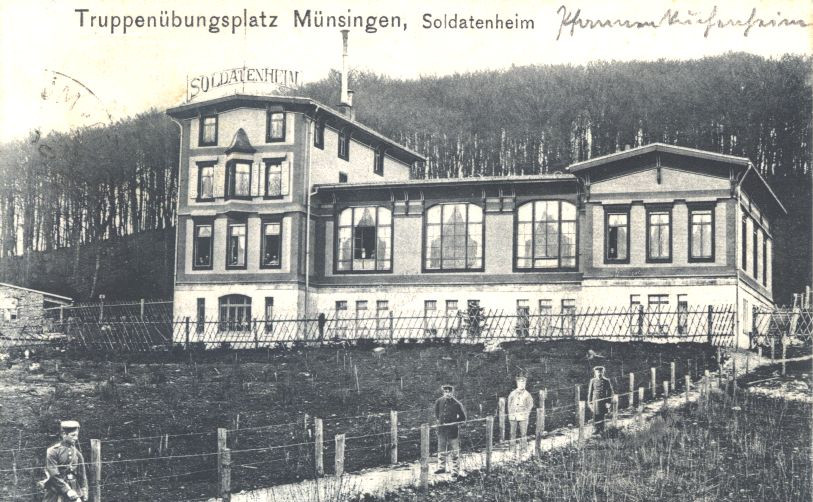 Soldatenheim, um 1905 (KART S 6 Nr. 1153)
