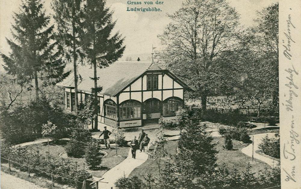 Ludwigshöhe, um 1905 (KART S 6 Nr. 909)