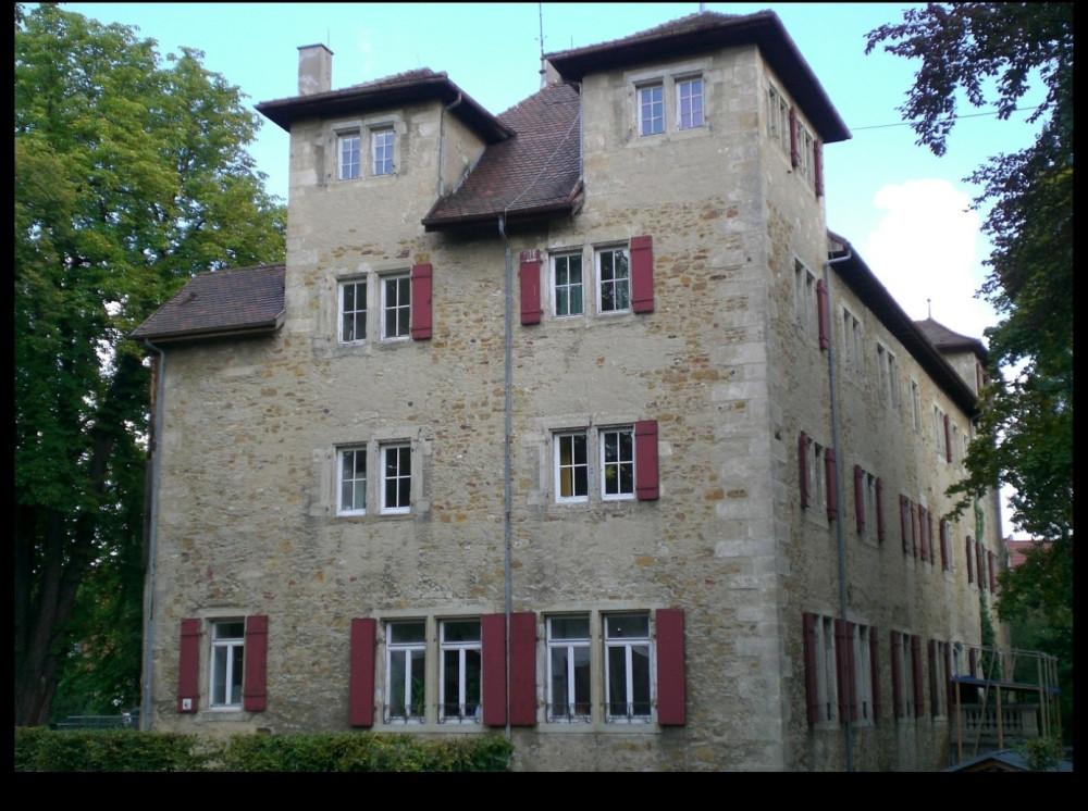 Das Schlossgebäude im August 2013