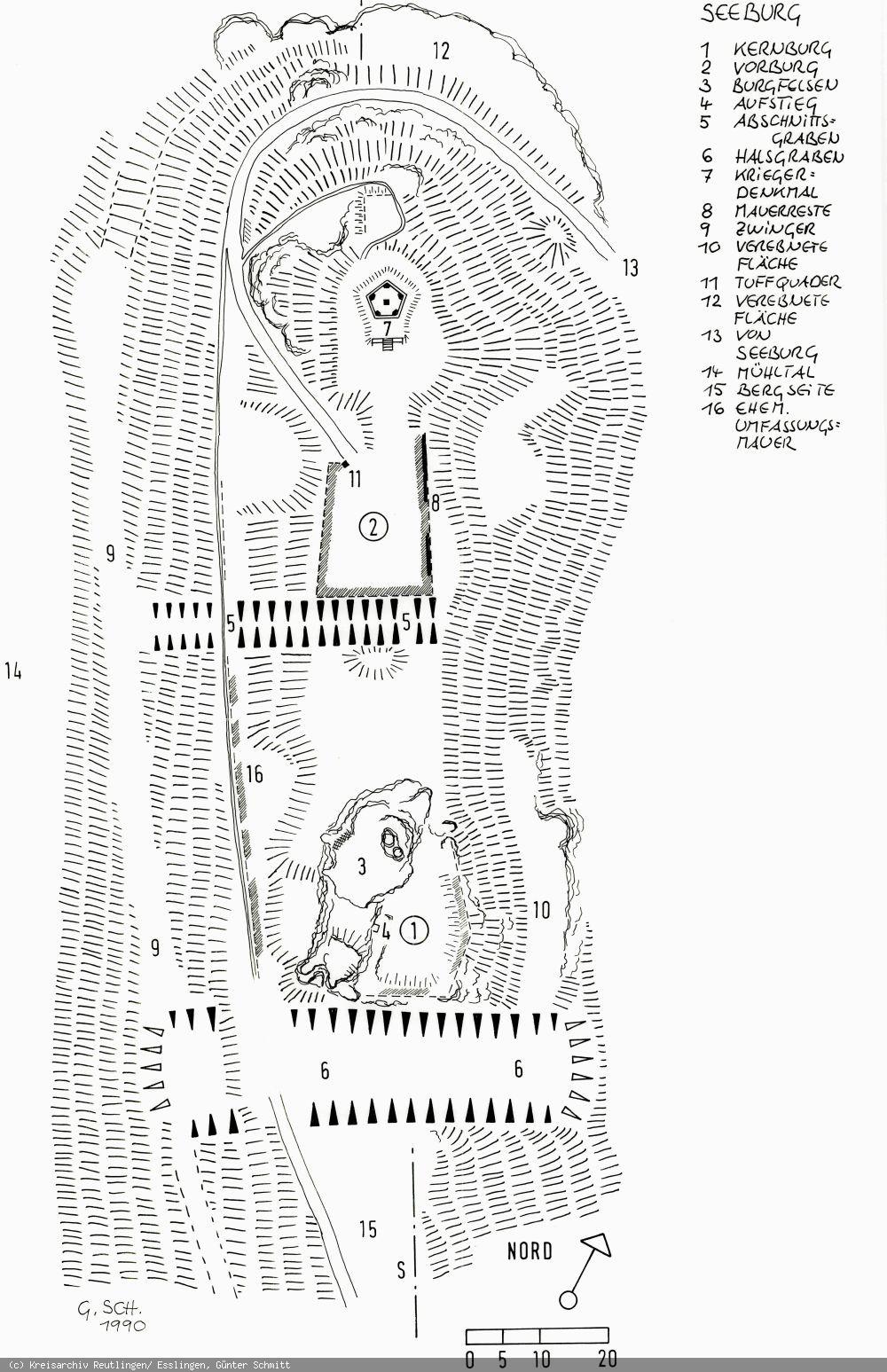 Lageplan Seeburg