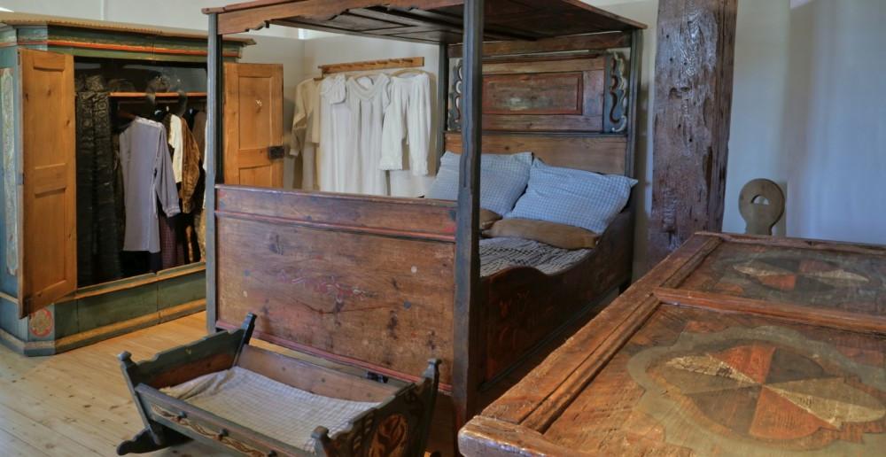 Bürgerliches Schlafzimmer im Museum