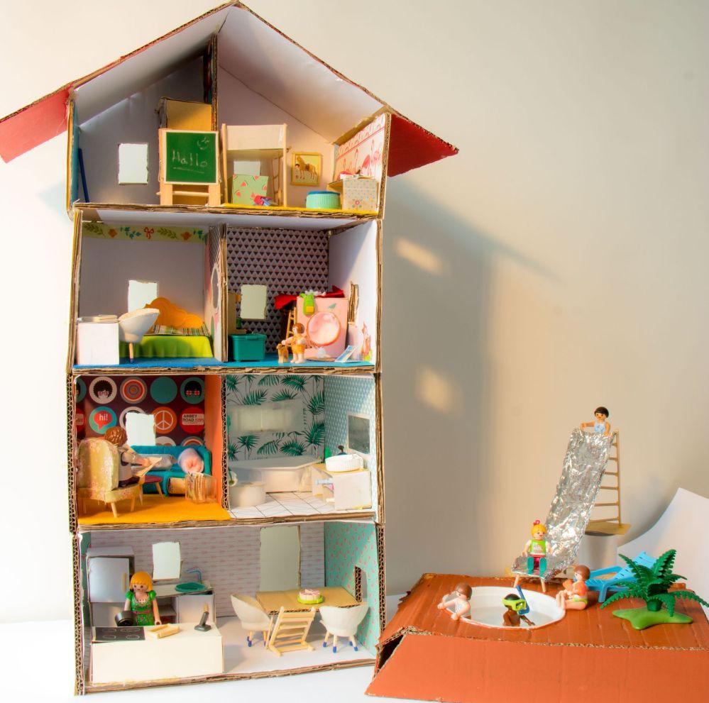 Playmobil - Papphaus