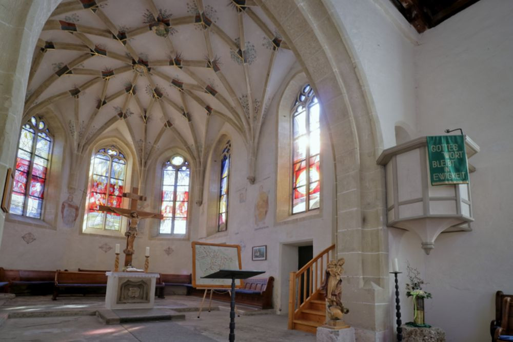 Blick in den Chor, Stephanuskirche
