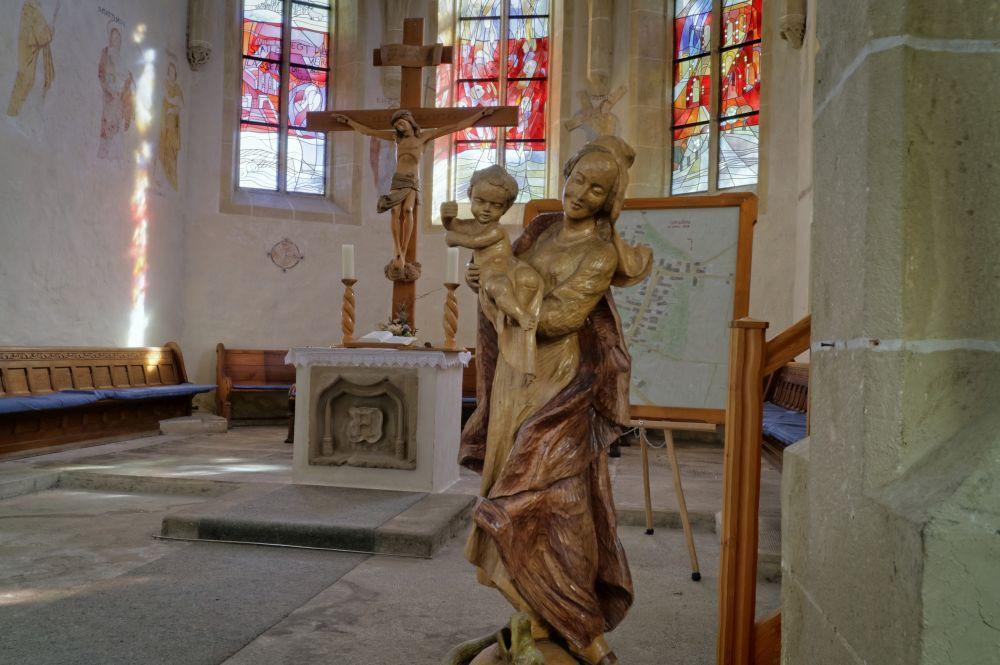 Blick auf den Altar, Stephanuskirche
