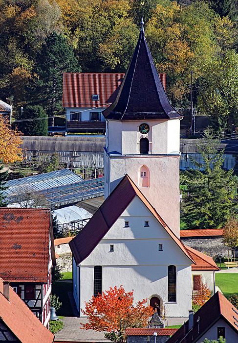 Die Johanneskirche in Unterhausen, Foto: Rainer Hipp