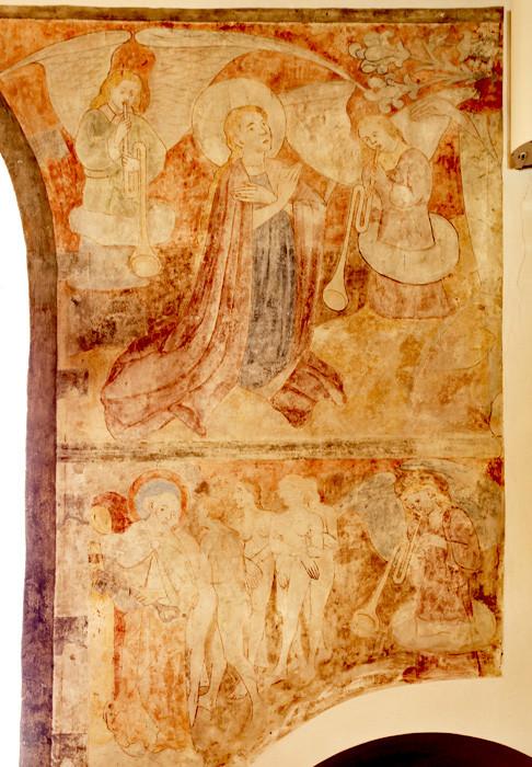 Wandmalereien in der Sankt Peter und Paul, Foto: Rainer Hipp